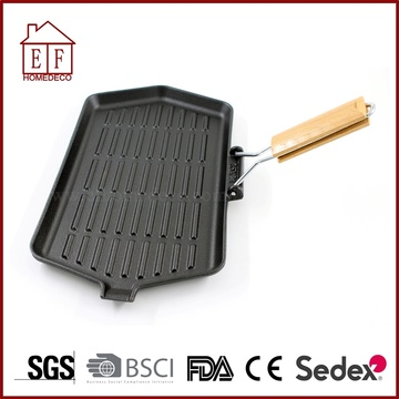 Square Cast Iron Skillet and Pan