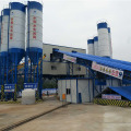 HZS120 stabilized concrete batching plant in Thailand
