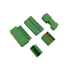 3.81mm pitch quick pluggable terminal block