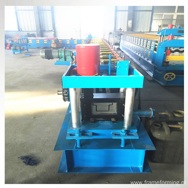 steel door frame bending machine