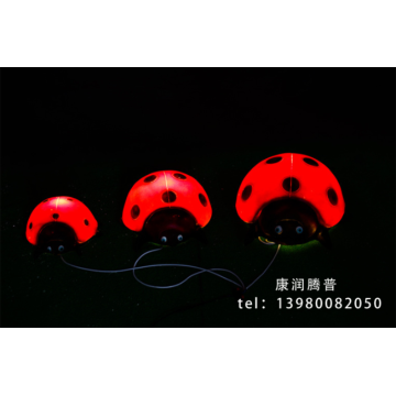 Outdoor landscape Ladybug Lights