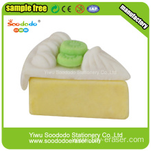 Triangle Cake Shaped Eraser,School Stationery eraser