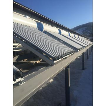 Pressurized solar water heater with heat pipes 300L