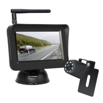 Wireless Parking Camera with 4.3inch Car Monitor
