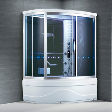 Muti Functional Luxury Complete Steam Shower Cabin
