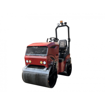 Steering flexible single cylinder road roller 1200KG