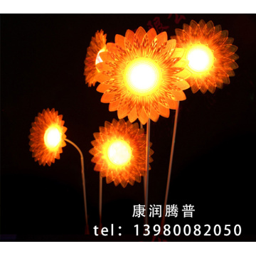 Simulation Sunflower Lawn Lights