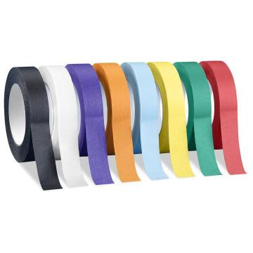 Single sided colored stretch film for Masking