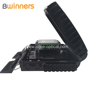 Ip65 Indoor Outdoor 16Core 16Ports Ftth Optical Fiber Distribution Box Access Terminal Box