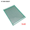 1pcs 7x10cm 70x100 mm Double Side Prototype PCB Universal Printed Circuit Board Protoboard For Arduino
