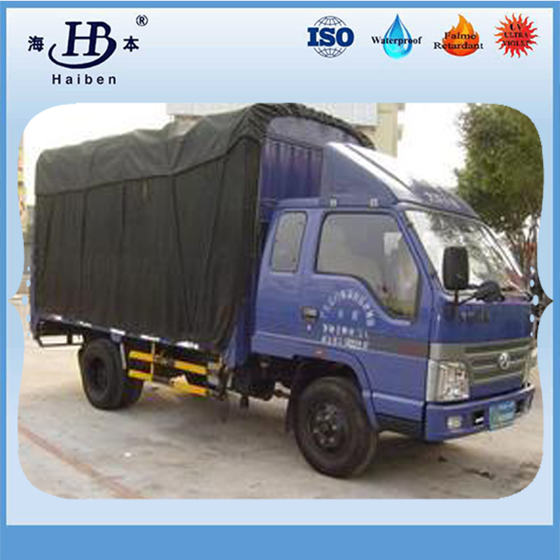 Organic silicon waterproof canvas tarpaulin truck cover