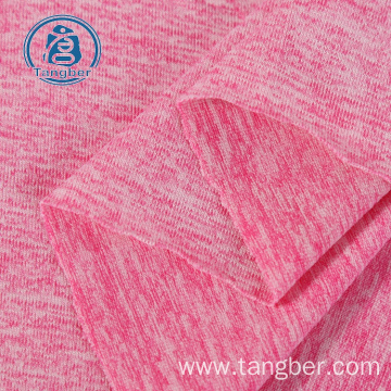 Knit sportswear cationic polyester sports jersey fabric