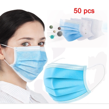3 Ply Protective disposable medical surgical face mask