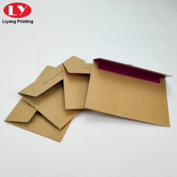 Kraft Envelope Packaging Custom Brown Paper Envelopes