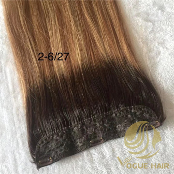 High quality-One pieces clip in hair extensionsn