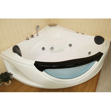 Double Freestanding Corner Bath Tub