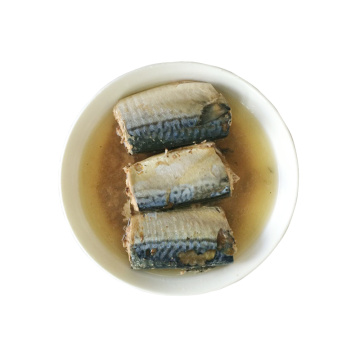 HACCP Canned Mackerel Tin Fish In Vegetable Oil