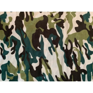 Polyester Knitted Fabric For Mesh Camouflage