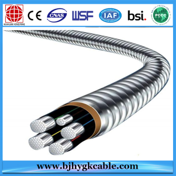 Aerial Insulated Cable 0.6KV / 1KV For DC / AC System