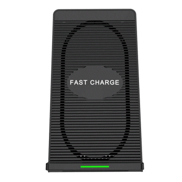 10W Qi Wireless Mobile Phone Vertical Fast Charger
