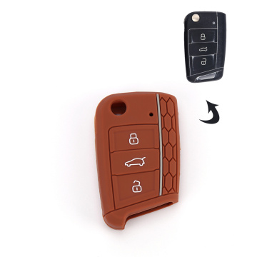 good quality CUSTOM silicone car key cover