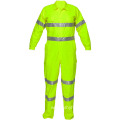 High visibility working clothes coverall