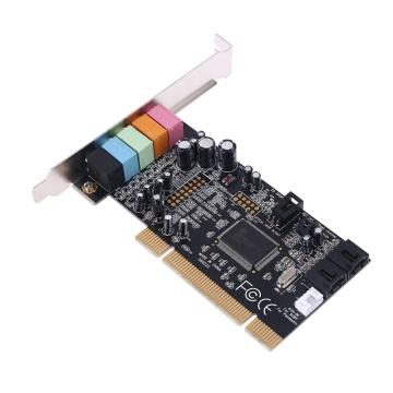 Classic PCI Sound Card 5.1CH CMI8738 Chipset Audios Digital Desktop Pci Express Cards 5.1 Channel TXC097