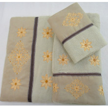 Bath Decorative 3 Piece Towel Set