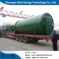 New design pyrolysis plant for waste tires