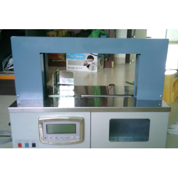 banding machine with paper or opp belt packing