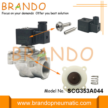 ASCO Type 1'' SCG353A044 Right Angle Pulse Valve