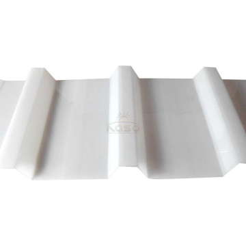 Plastic Heat Resistant Corrugated Roofing Sheet