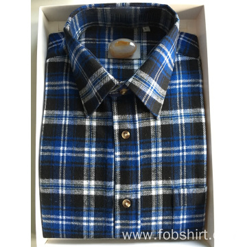 100% Cotton Flannel Fabric Business Shirt
