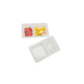 Small Food Grade PP Plastic Snack Divide Tray
