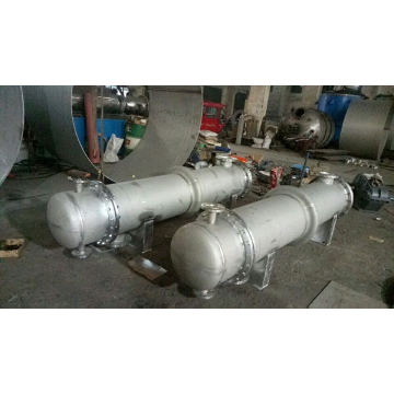 vertical  shell and tube heat exchanger