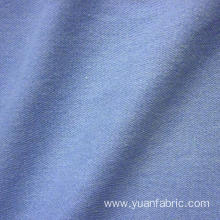 Light Blue Cotton Fabric Washed Denim