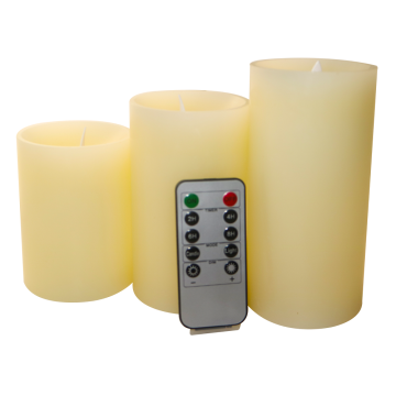 LED Farbwechsel Flameless Kerzen wax candle set