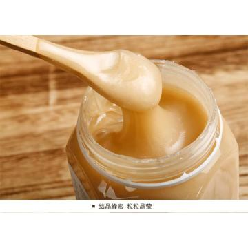 white solid bee honey(crystalline honey)