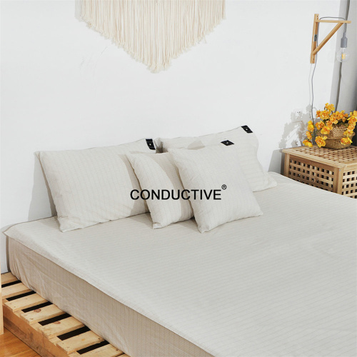 Grounded Pillowcase with Grounded wire keep healthy