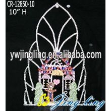 High Quality Christmas House Crown And Holiday Crown