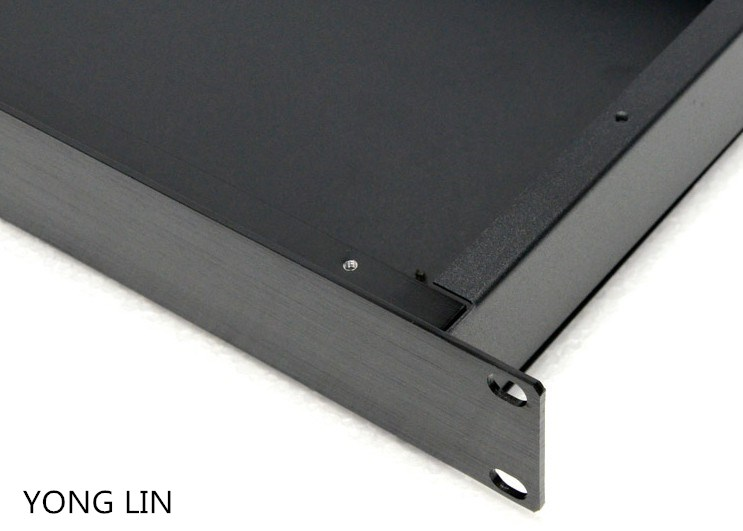 1pcs case 1 u case 19 inch case switch case Electric power communication industrial aluminum chassis server chassis