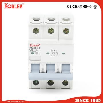 Miniature Circuit Breaker 4.5KA 63A with SIRIM