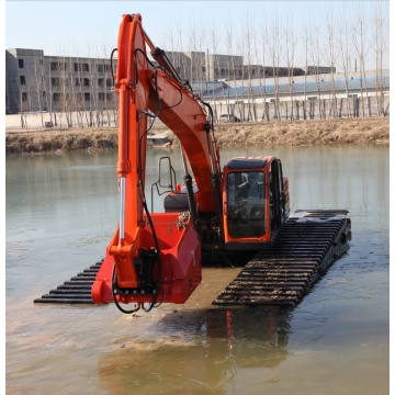 Wheel Amphibious Excavator Foe Sale
