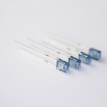 980nm LED Blue Lens 2×3×2mm Rectangle