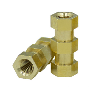 Brass Hexagonal flange nuts