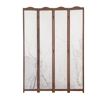 Wholesale wood various panels room divider screen for indoor decoration