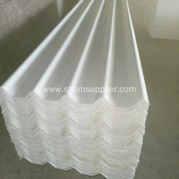 100% Non-asbestos Heat Resistant MgO Roofing Sheet