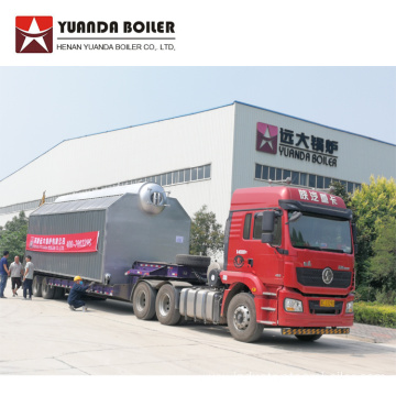 10 ton Water Tube Boiler for Textile Industry