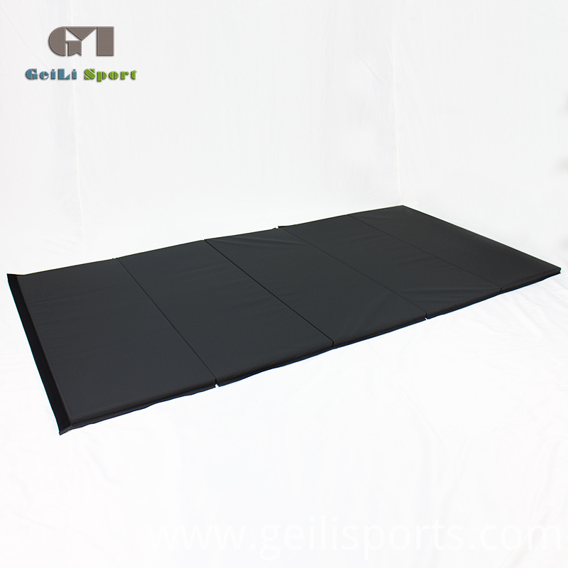 Gymnastics Folding Black Mat