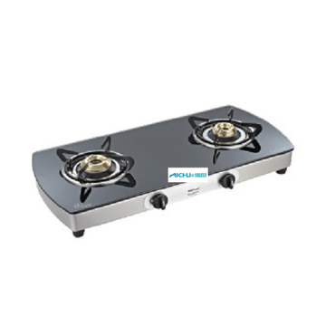 Crystal Plus Toughened Glass Cooktop 2 Burner